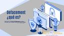 ¿Qué es hacer un defacement a un sitio web?
