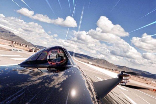 ... ¿Y si hacemos carreras de drones tripulados?